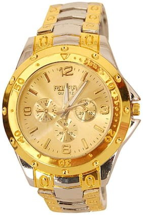 Rosra Silver Steel Analog Watch For MAN