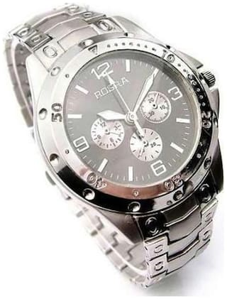 Rosra Silver Stainless Steel Analog watch