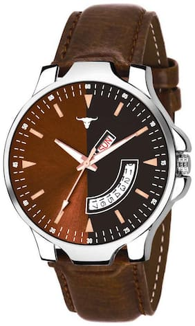 Rustet Analogue Men's & Boy's Day And Date Watch