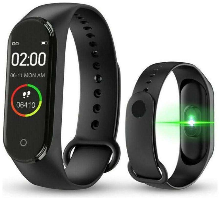 RVS M4 Smart Band Fitness Tracker Watch Heart Rate with Activity Tracker...