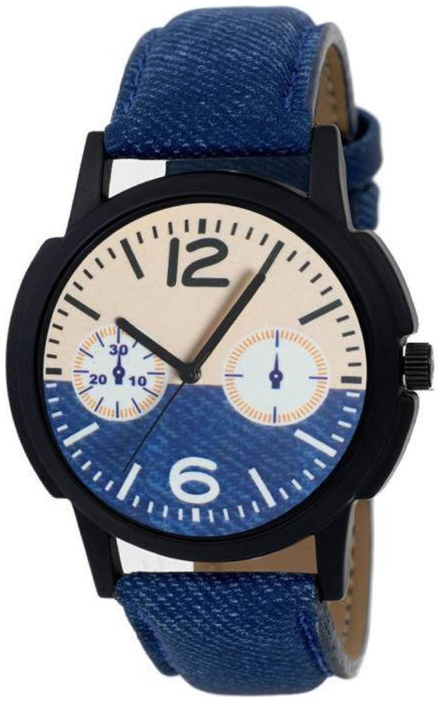 SAMARPAN STYLISH NEW COLLECTION BLUE ANALOG WATCH FOR MEN    BOYS