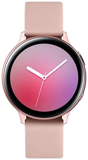 Samsung Galaxy Watch Active 2 (Bluetooth + LTE 44 mm) - Gold Aluminium Dial Silicon Straps