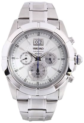Seiko  Spc107P1 Men Chronograph Watch