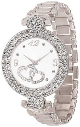 SILVER NEW AWOSOME LOOK PARIS STYLO COLLECTION 2021 Watch - For Girls