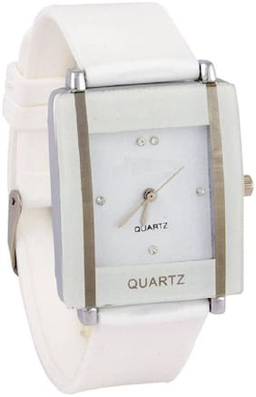 SK Analog White casual & SQARE& Glory style OR party wedding and wrist watch of formal watch and look for girls;women and collage teenagers kava Glory Watch Watch