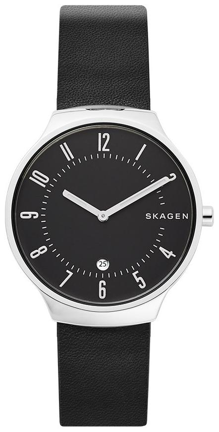 Skagen Leather Round Dial Analog Watch For Women by Airnet
