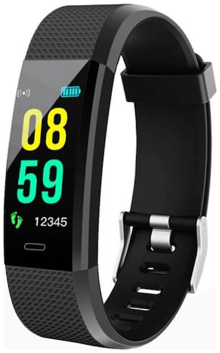Smart Fitness Band F0S (with Colorful LCD Display;Blood Pressure Monitor;Call & MSG Alert;Heart Rate;Pedometer;Waterproof;Calories Burn etc.)