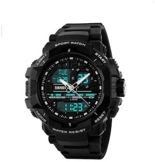 Skmei 1164 Black Wrist Watch for Men