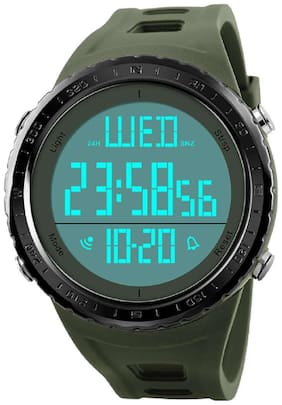 Skmei 1310 Army Green Chronograph Water Resistant Digital Sports Watch -For Men & Boys