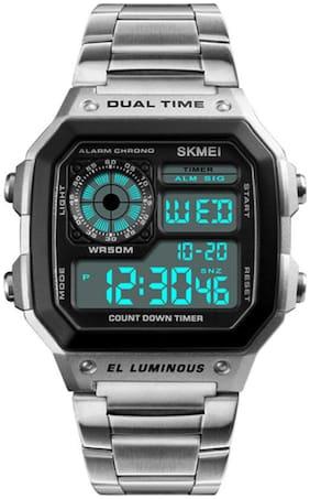 Skmei 1335 Silver Digital Stainless Steel Sports Watch Watch
