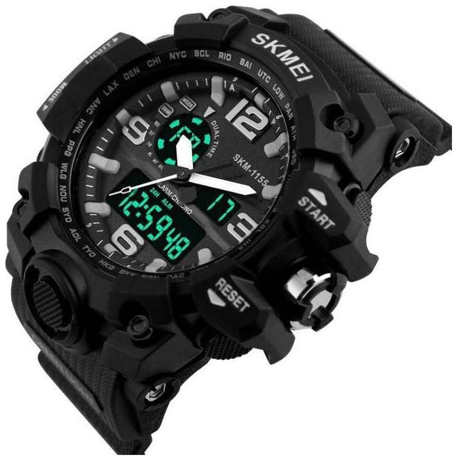 Skmei AD1155BLK ANADIG Analog Digital Watch   For Men by Bakhshi Electronic Items