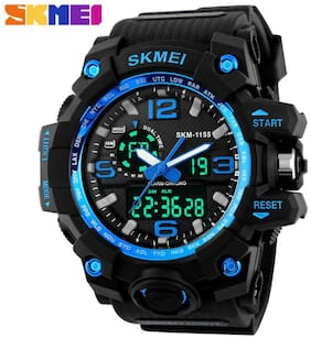 SKMEI Black Analog-Digital Watch