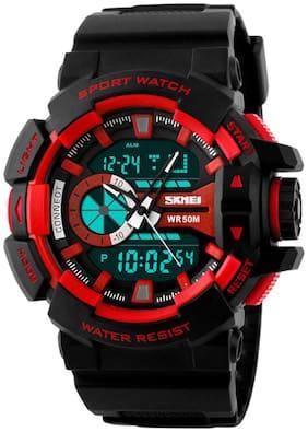 Skmei Black Analog-Digital Watch
