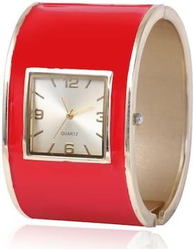 Skylofts 40mm Red Bracelet Watch for Women