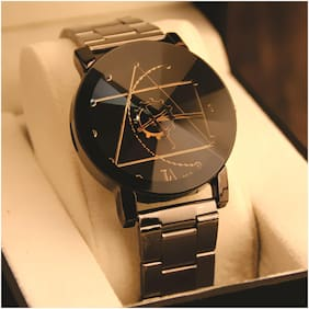 Skylofts 40mm Stainless Steel Black Dial Men watches
