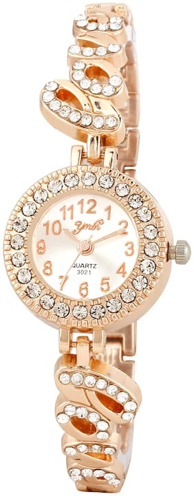 Skylofts Cute Love Style Gold Plated Watches for Girls Birthday Gifts for girlfriend Women watches