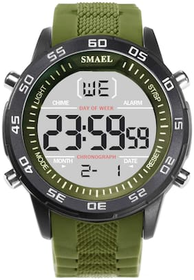 SMAEL 1067 Army Sports Digital Watch - For Men