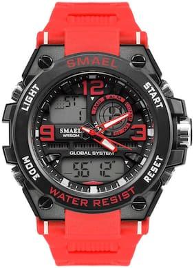 Men Black Analog-Digital Watch