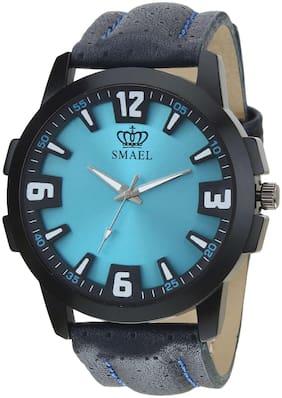 Blue Analog Watch