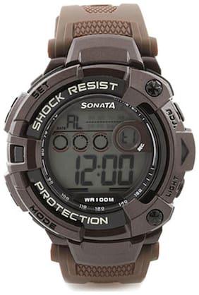 Sonata  77010Pp01J Men Digital Watch