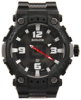 Sonata  77014Pp01J Men Analog Watch