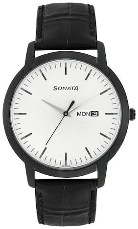 Sonata 77031NL03 Men Analog  watch