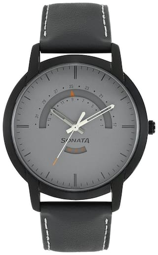 Sonata 77031NL02 Men Analog  watch
