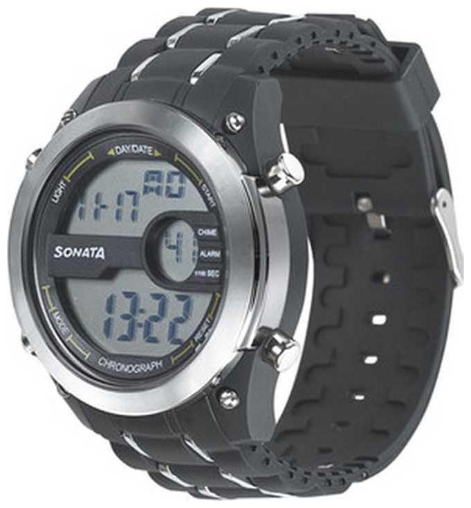 Sonata  77034Pp01 Men Digital Watch