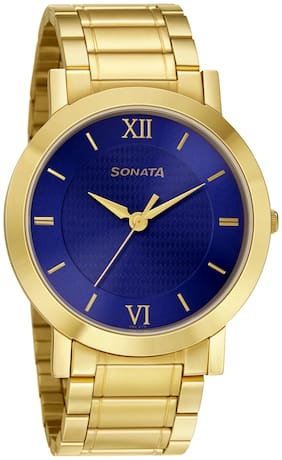Sonata 77108YM01 Utsav Collection Watch For Men