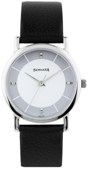 Sonata  7987Sl01 Men Analog Watch