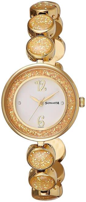 Sonata  8136Ym04 Women Analog Watch