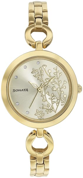 Sonata 8147YM03 Wedding Collection Watch For Women
