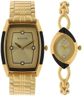 d3b4a9fc0d Sonata Couple Watches Prices | Buy Sonata Couple Watches online at ...
