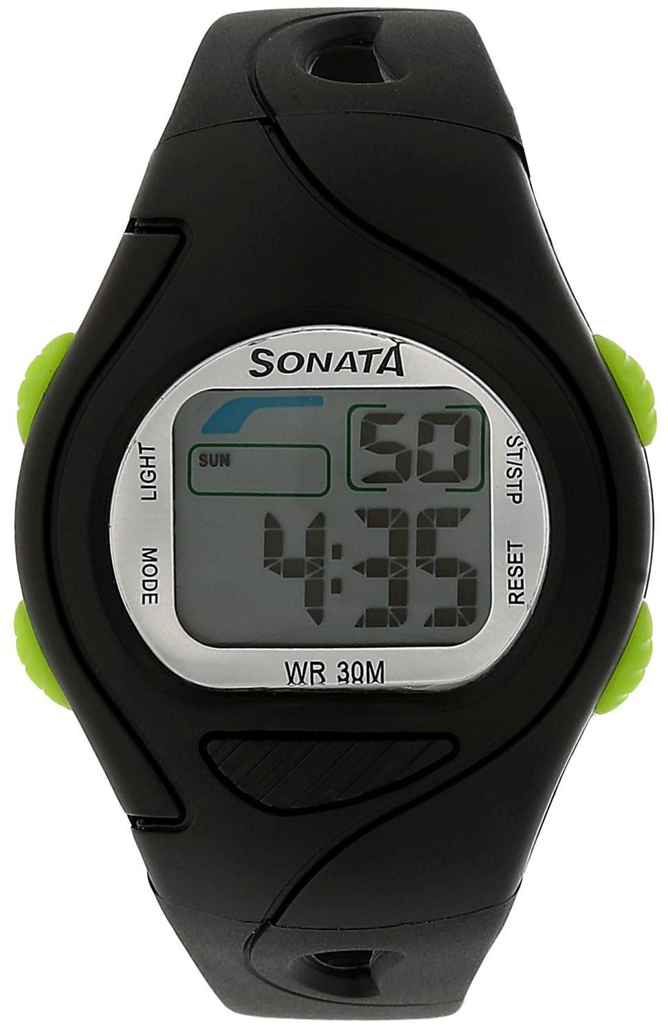 Sonata Digital Watch for men by Titan Company