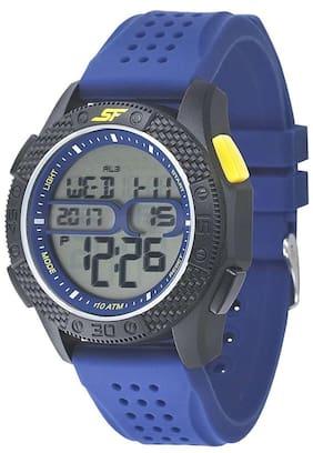 Men White Digital Watch