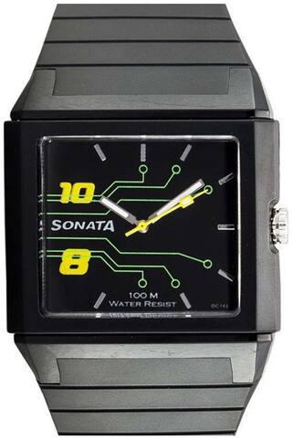 Sonata  Nf7988Pp01J Men Analog Watch