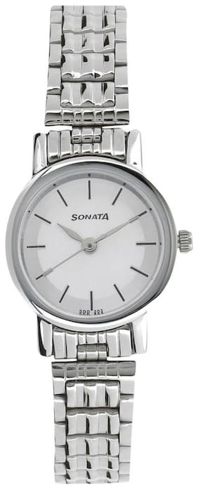 Sonata NJ8976SM01W Women Watch