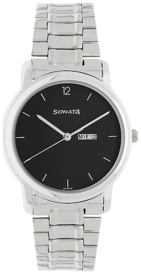 Sonata NK1013SM04 Men Analog with Day and Date Watches