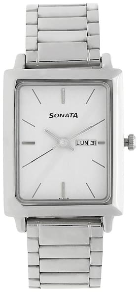 Sonata NK7078SM05 Men Analog with Day and Date Watches