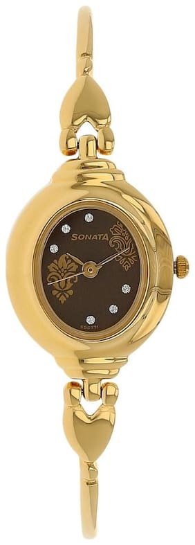 Sonata NK8092YM02 Women Analog watch