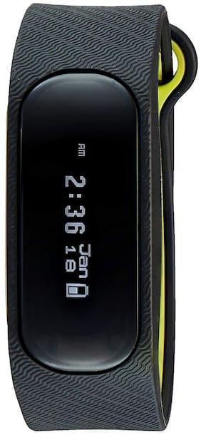 Sonata Unisex Black Digital Watch