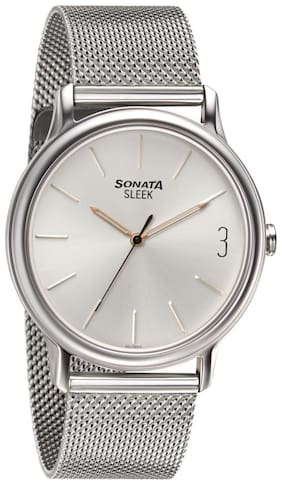 Sonata Sleek Sonata 7128SM04 Analog Watch For Men