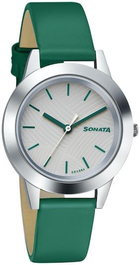 Sonata Splash 87019SL17 Analog Watch For Women