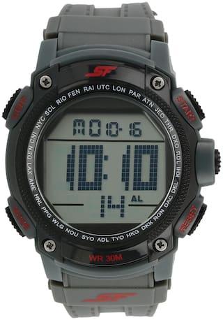 Sonata NL77073PP02A Men Grey - Digital Watch