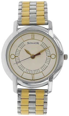 Sonata NK7954BM01 Men Watch