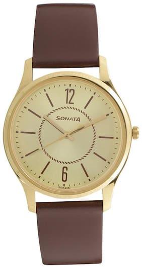 Sonata 77082YL01 Men Watch