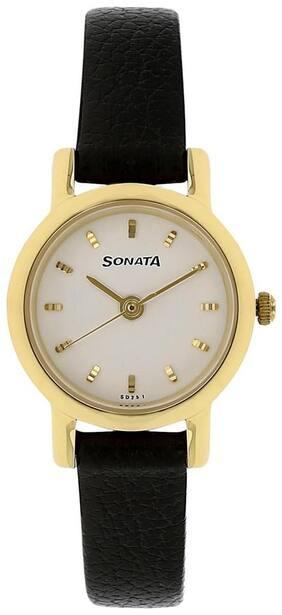Sonata NJ8976YL02W Women Watch