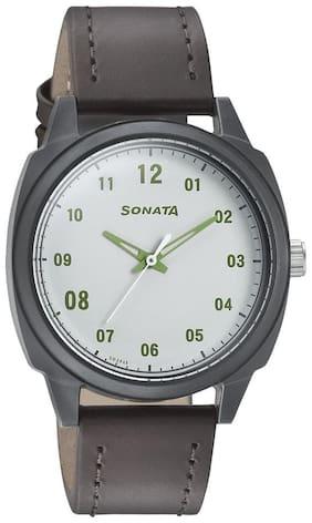 Sonata 77086PL05 Men Watch