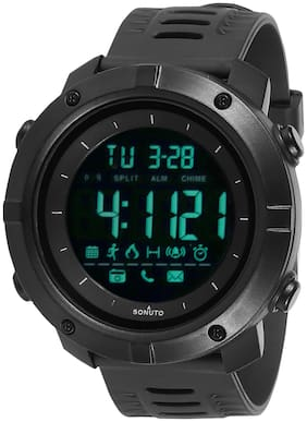 SONUTO SNT9072 Black Youth Series Premium Looks Sports Digital Watch