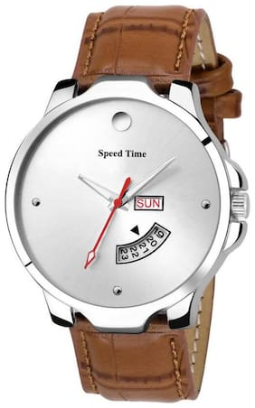 Speed Time Analog Watch For Men
